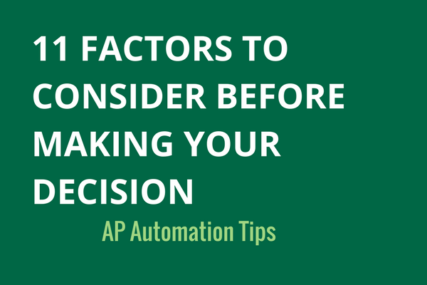 Accounts Payable Automation Checklist Tips To Consider - Invoice automation software