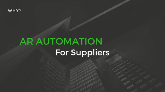 AR Automation for Suppliers working with Retailers